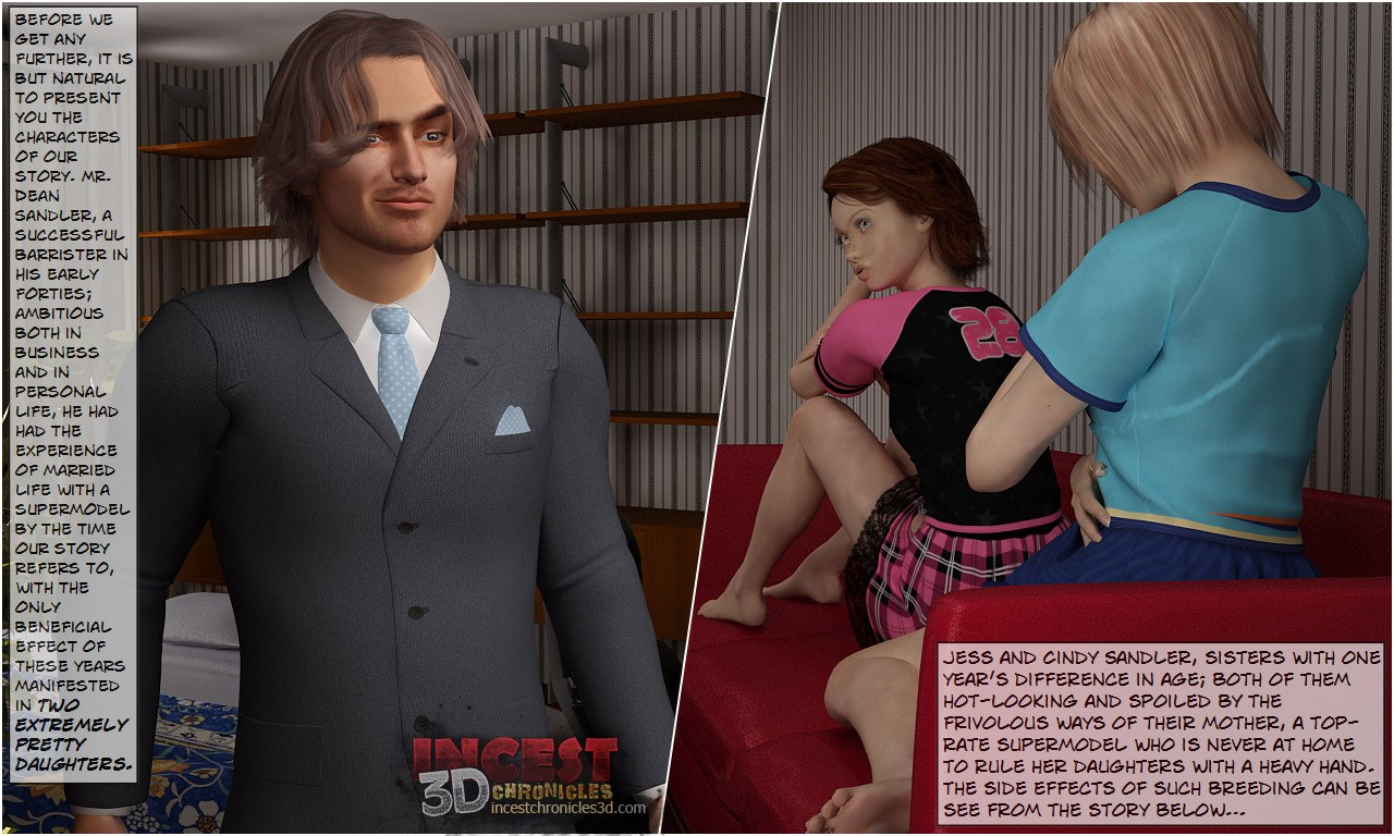 Daddy's Birthday- IncestChronicles3D image 1