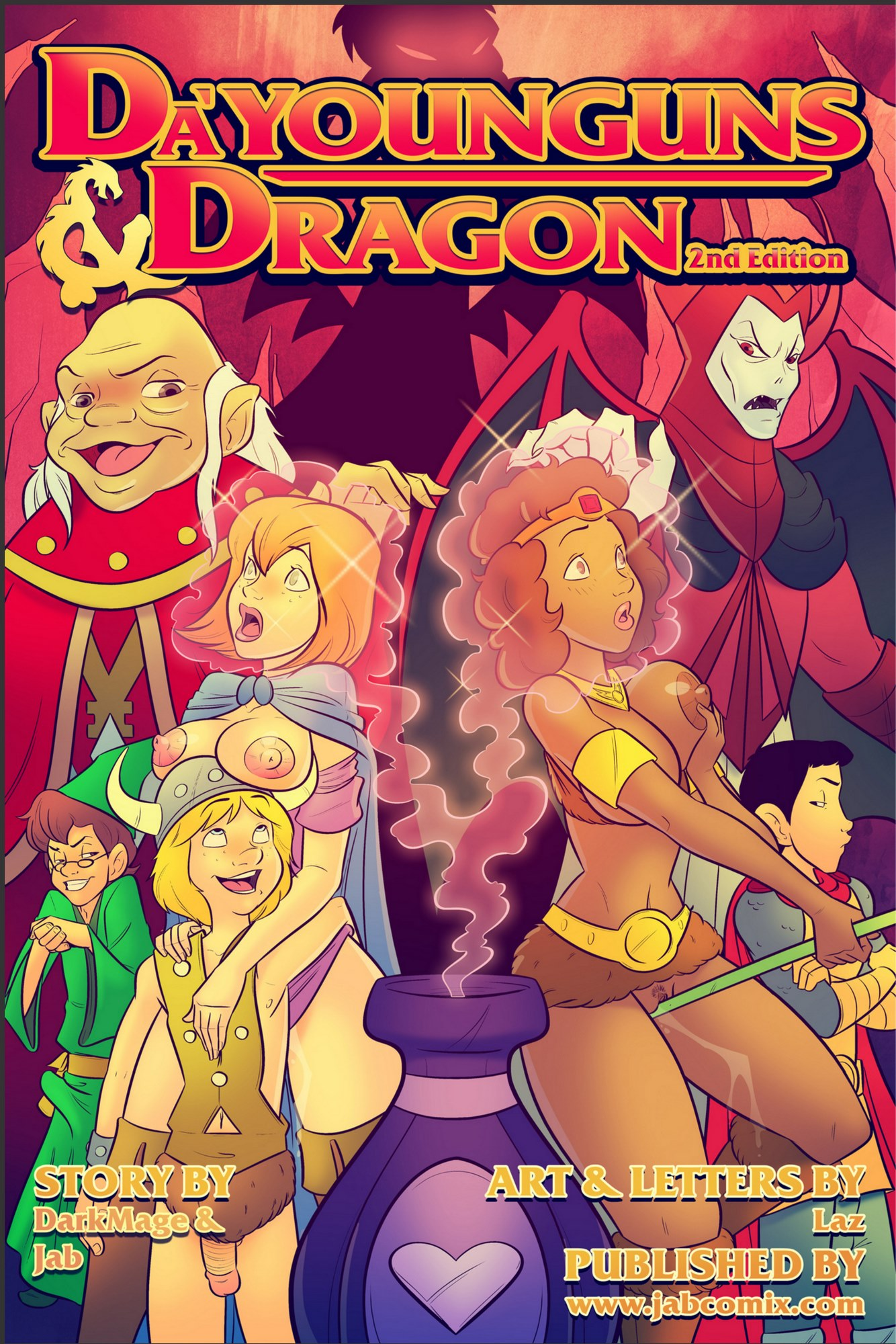 Da'Younguns & Dragons 2nd- Jab Comix image 1