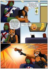 DC Universe- League of sex (Arabatos) porn comics 8 muses