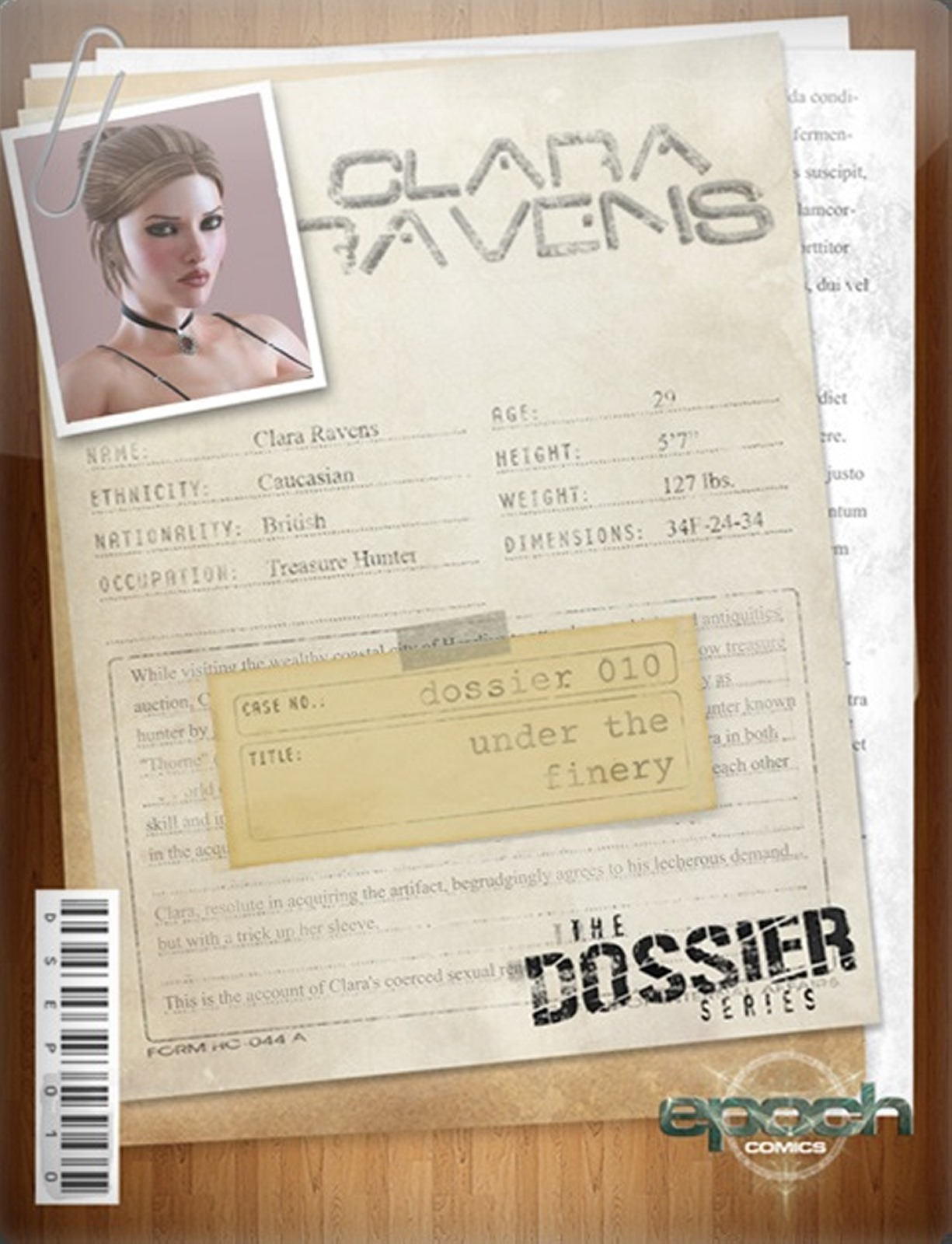The Dossier 10- Epoch- Clara Ravens porn comics 8 muses