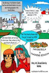 Dragon Ball- Pan And Bra's New Trainer porn comics 8 muses
