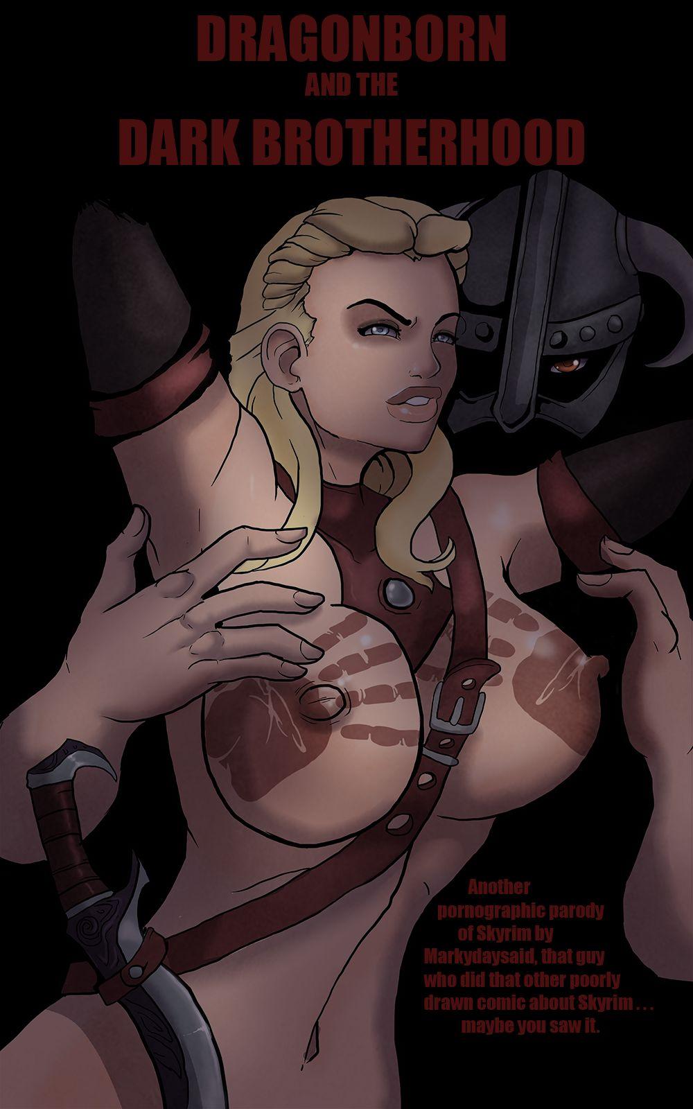 Dragonborn and Dark Brotherhood- Markydaysaid porn comics 8 muses