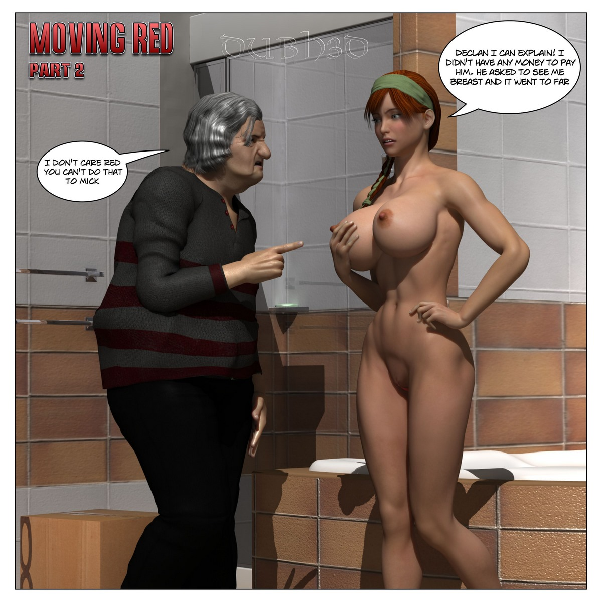Dubh3D  Moving Red Issue 2 Porn Comics 8 Muses-8624
