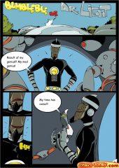 Dr. Light And Bumblebee (Teen Titans) porn comics 8 muses