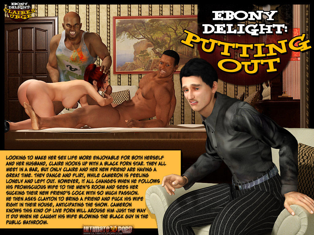 Ebony Delight- Putting out porn comics 8 muses