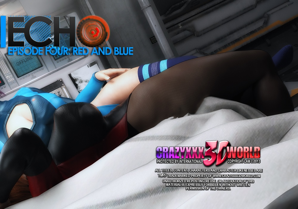 Echo Ep. 4- Red and Blue- Crazyxxx3D World image 1