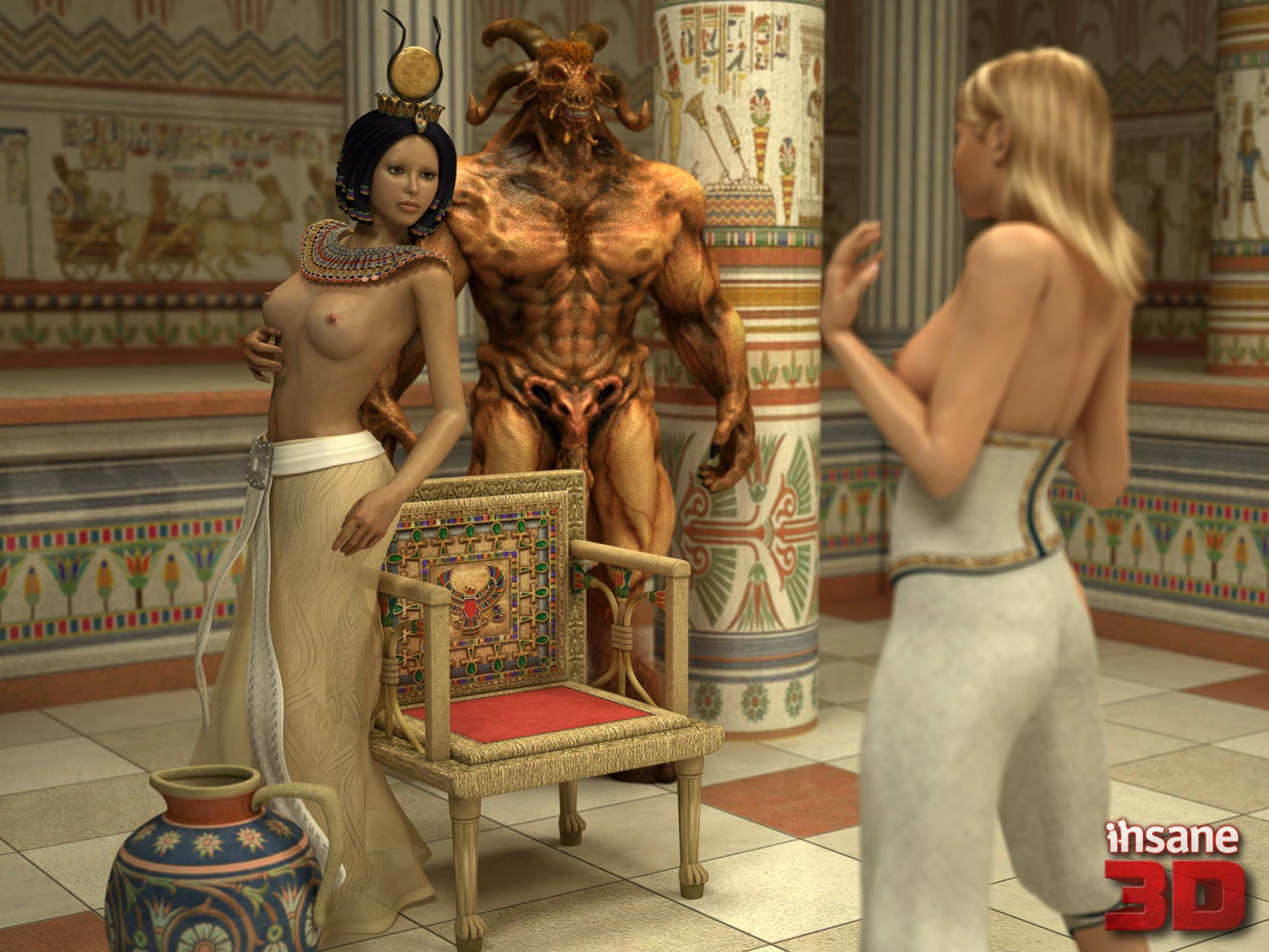 Egyptian Punishment porn comics 8 muses