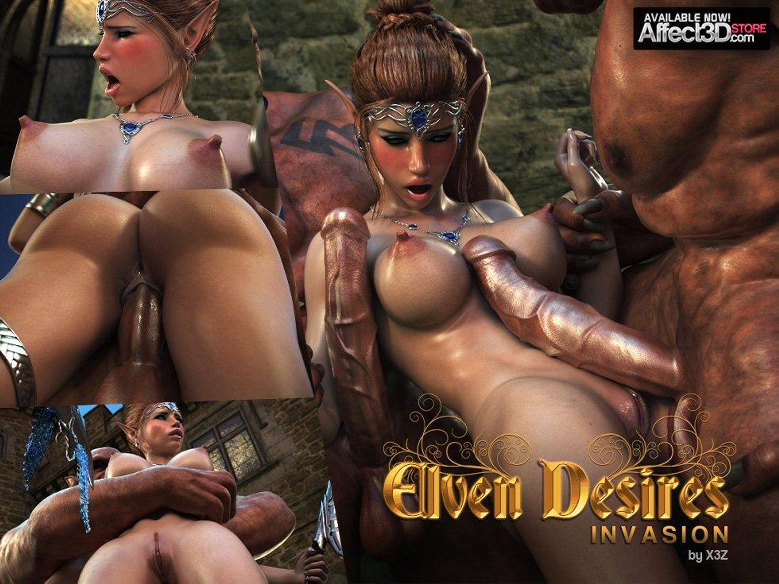 Elven Desire – Invasion-Tashas Timing porn comics 8 muses