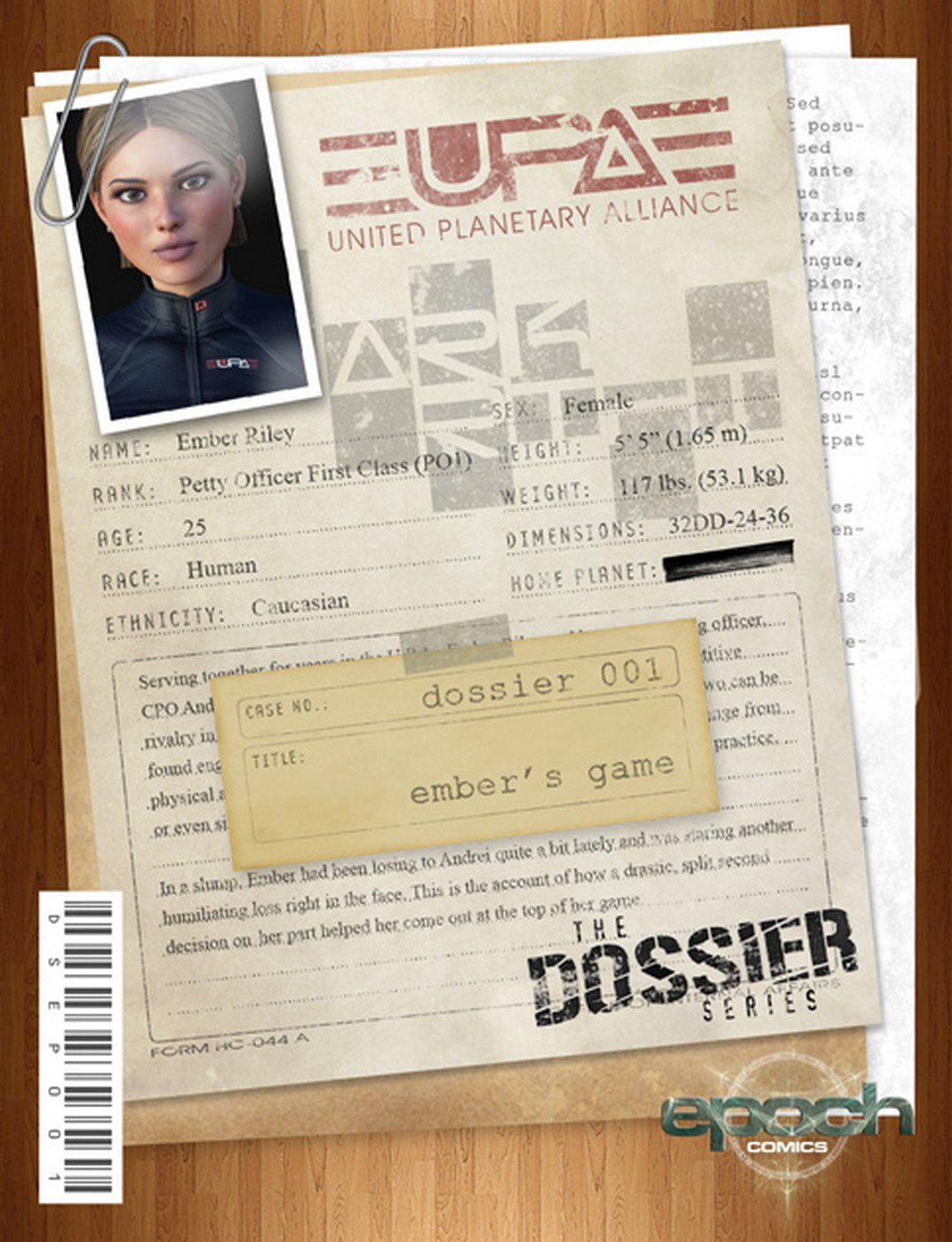 Epoch- The Dossier image 1