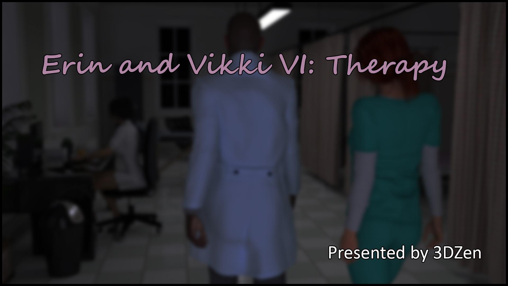 Erin & Vikki 6 – Therapy- 3DZen porn comics 8 muses
