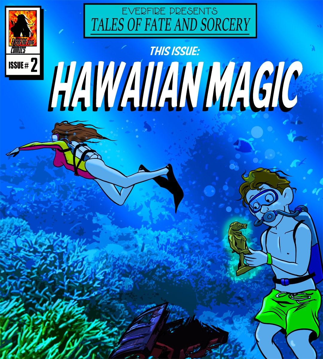 Everfire – Hawaiian Magic porn comics 8 muses