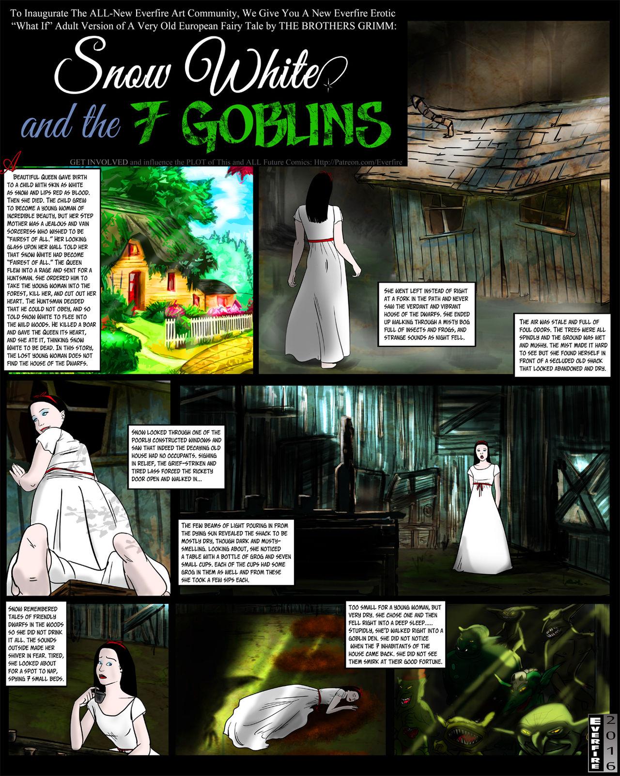 Snow White -7 Goblins porn comics 8 muses
