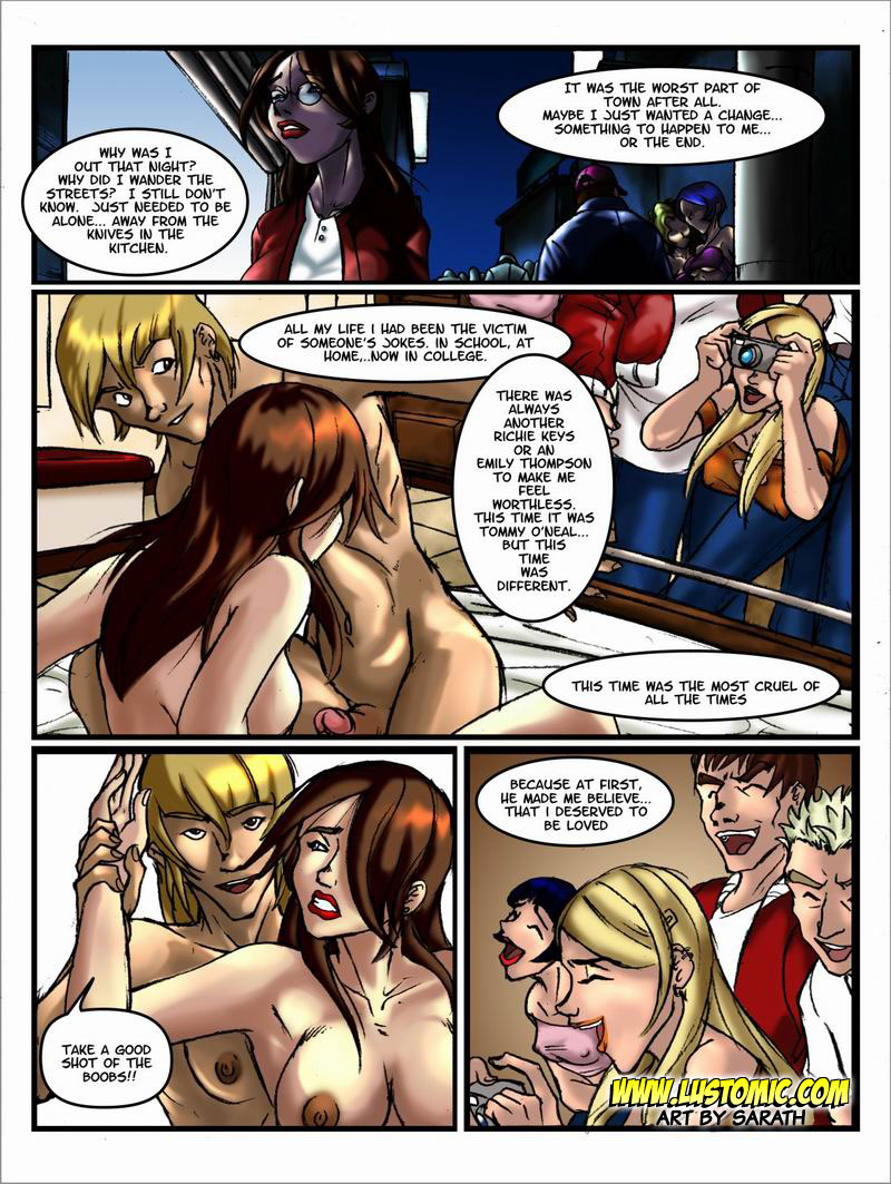 Family Ties- Lustomic porn comics 8 muses