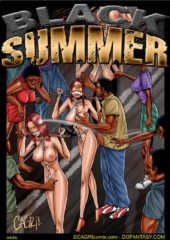 Fansadox Collection 59 – Black Summer porn comics 8 muses