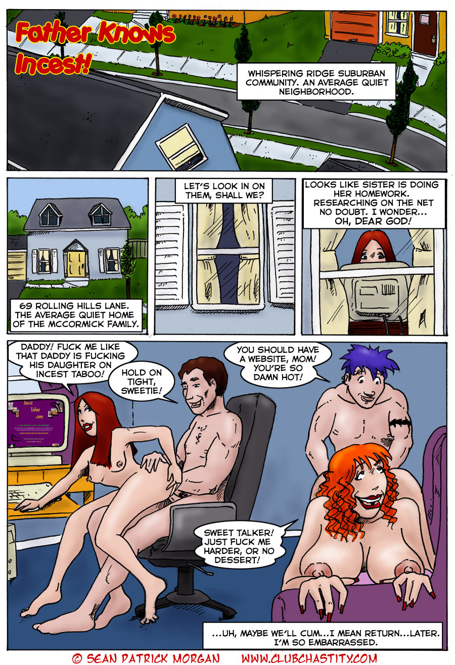 Father Knows Incest porn comics 8 muses