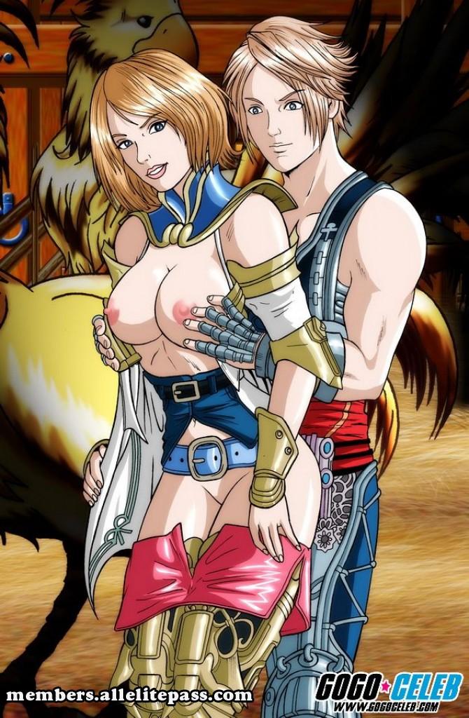 Final Fantasy- GoGo Celebs porn comics 8 muses