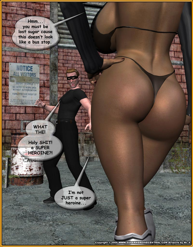 Fly Woman porn comics 8 muses
