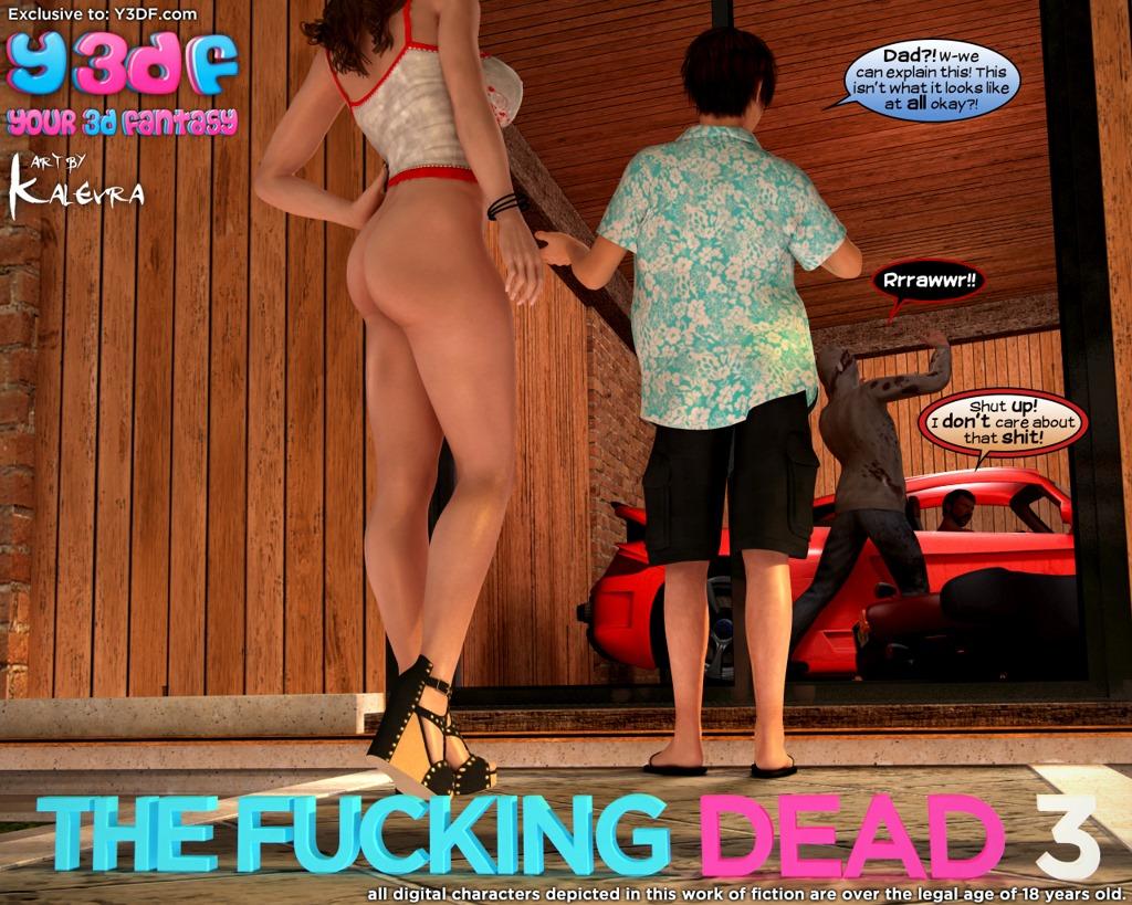 Fucking Dead 3- Y3DF porn comics 8 muses