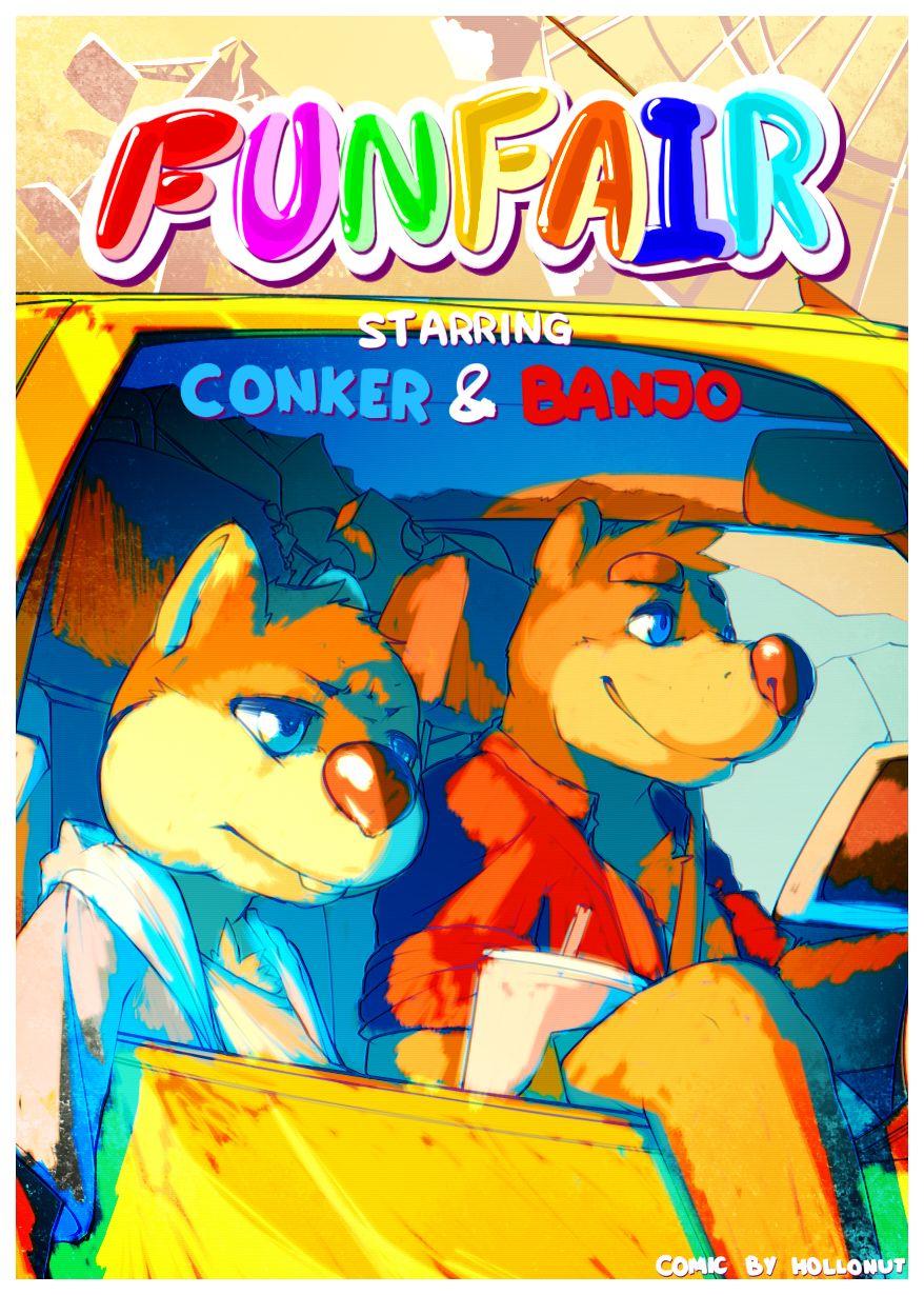 FUNFAIR- Conker & Banjo porn comics 8 muses