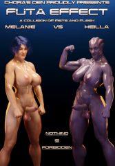 Futa Effect Heilla vs Melanie- Squarepeg3D porn comics 8 muses
