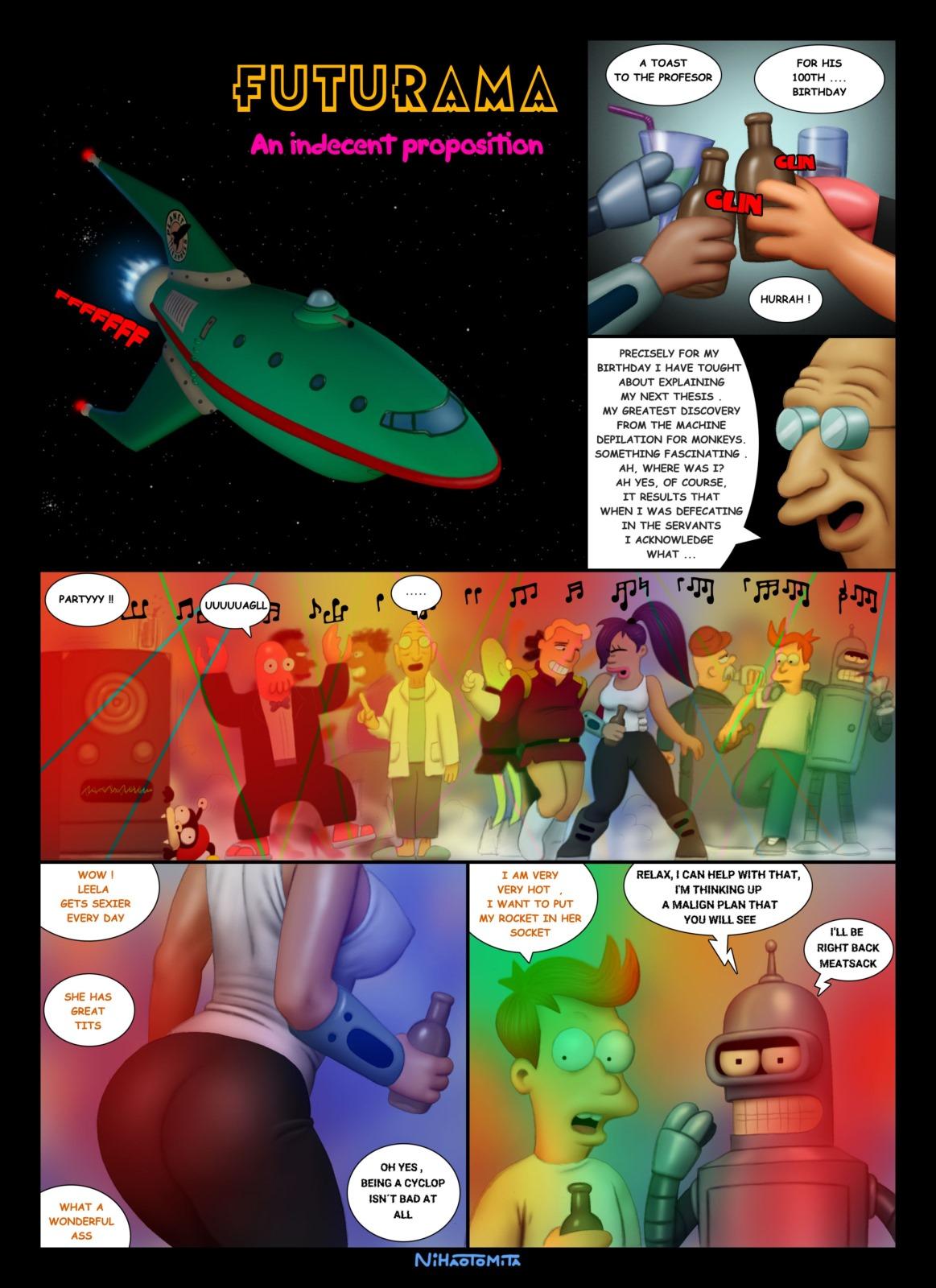 Futurama- An Indecent Proposition porn comics 8 muses