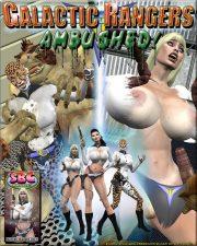 Galactic Rangers Ambushed- Mr.X porn comics 8 muses