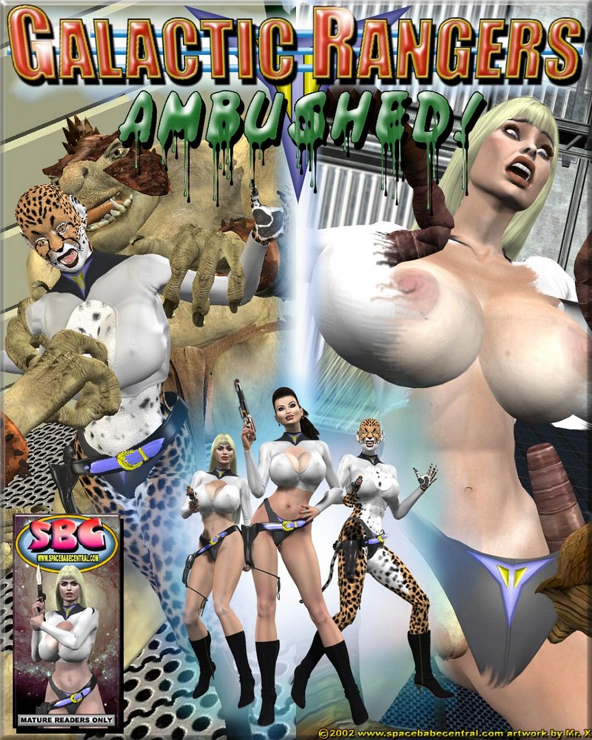 Galactic Rangers Ambushed- Mr.X porn comics 8 muses