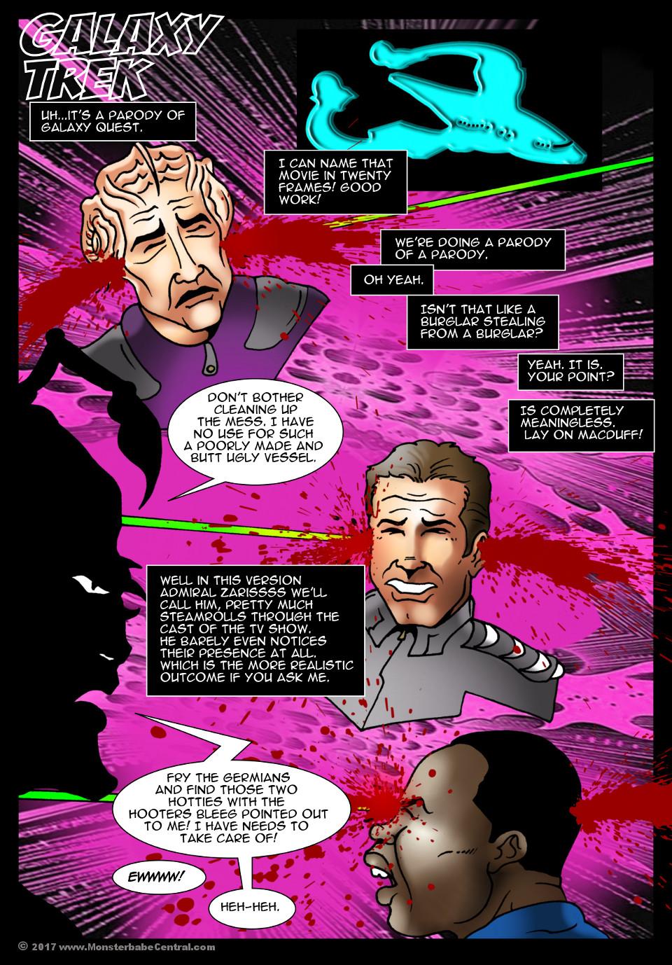 Galaxy Trek porn comics 8 muses
