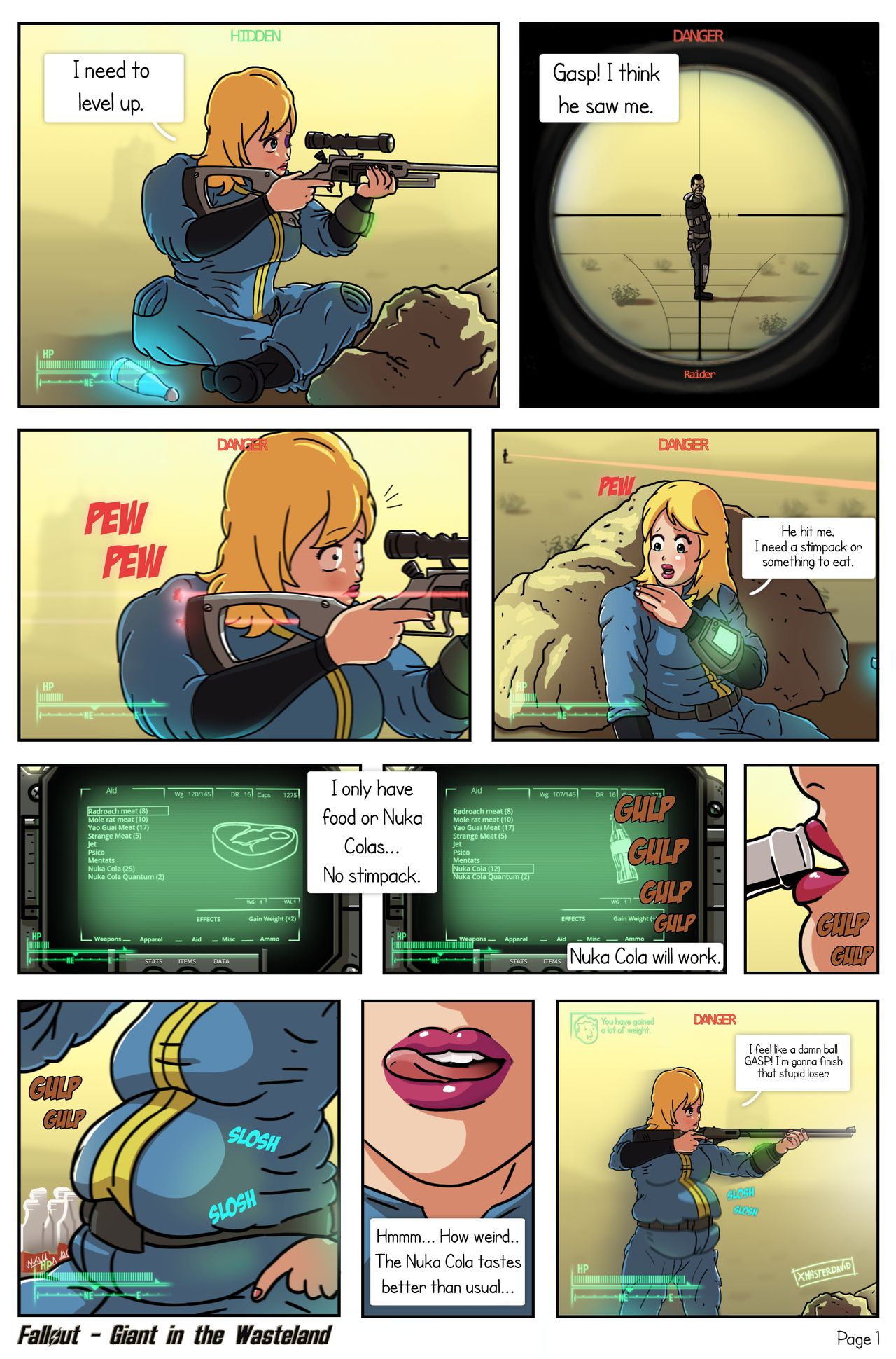 Giant in the Wasteland (Fallout) porn comics 8 muses