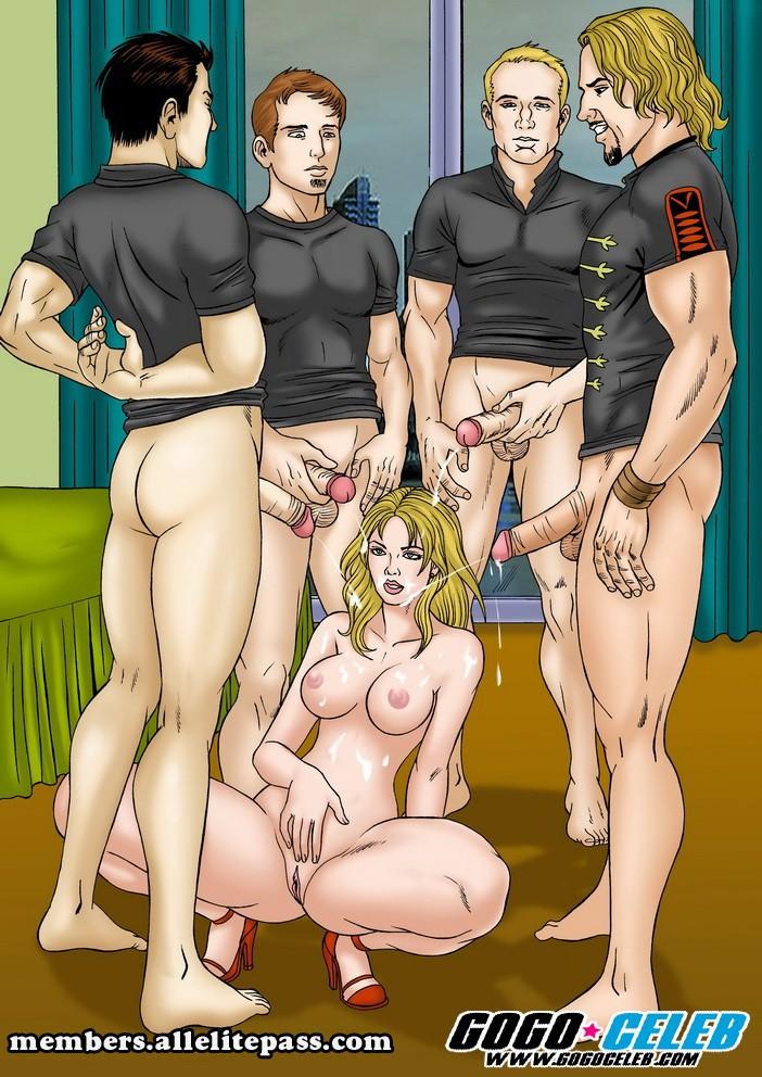 Gogo Celebs- Nickelback  Britney Spears Porn Comics 8 Muses-3327