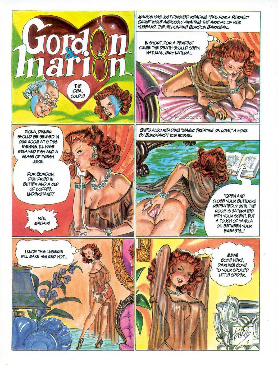 Gordon & Marion- Ferocius porn comics 8 muses