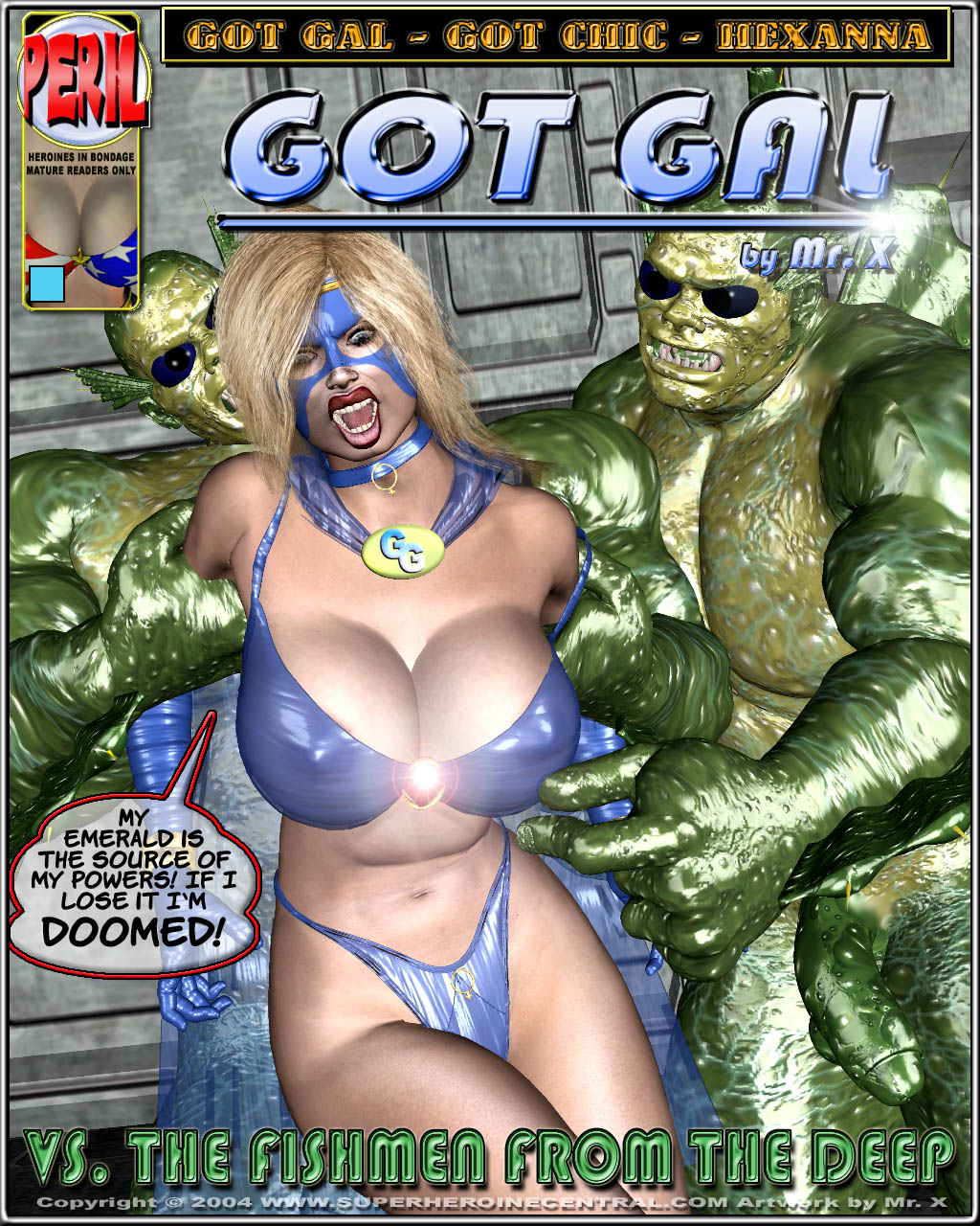 Got Gal vs Fishmen From The Deep porn comics 8 muses