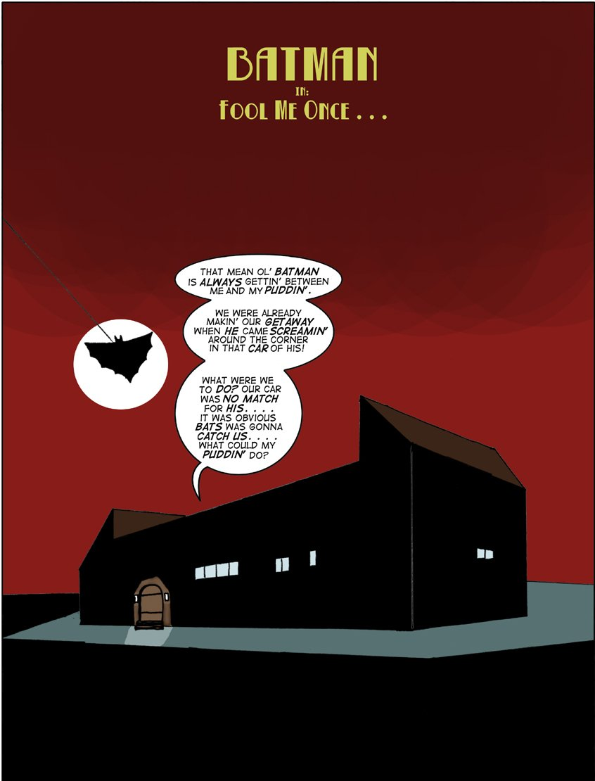 Great Scott Saga 2- Batman Fool Me Once image 1