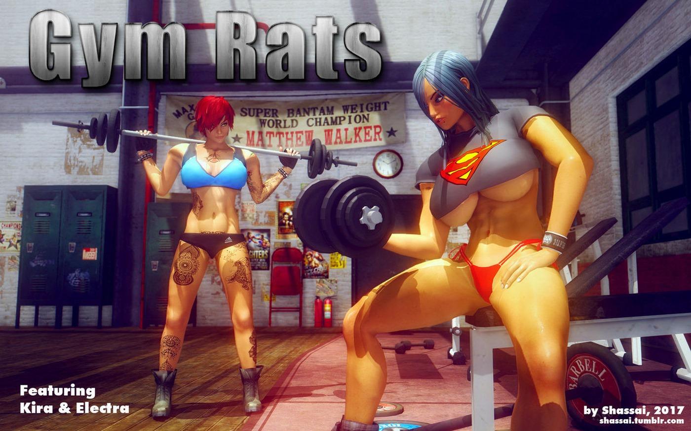 Gym Rats- Shassai porn comics 8 muses