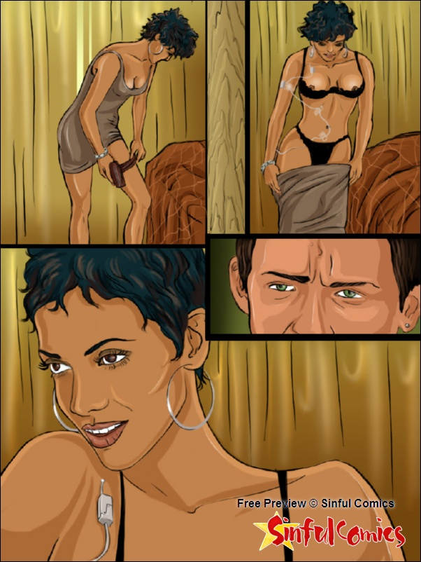 Halle Berry Teamed by Hugh and John porn comics 8 muses