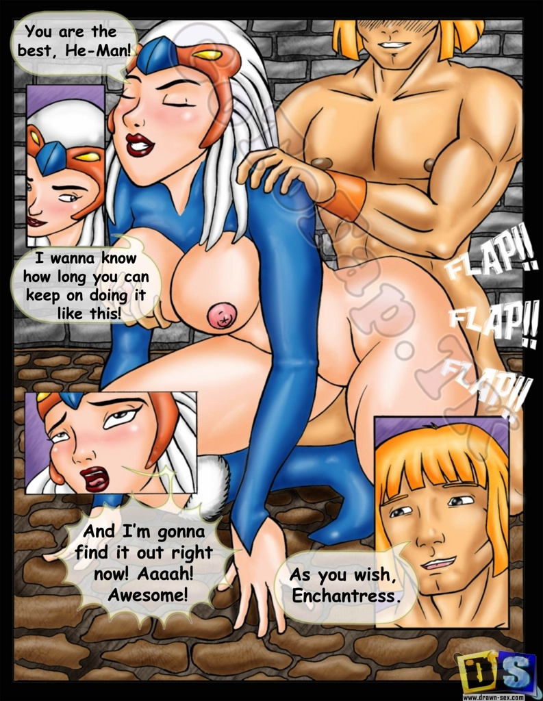 He-Man and She Ra- Secret of the Sword porn comics 8 muses