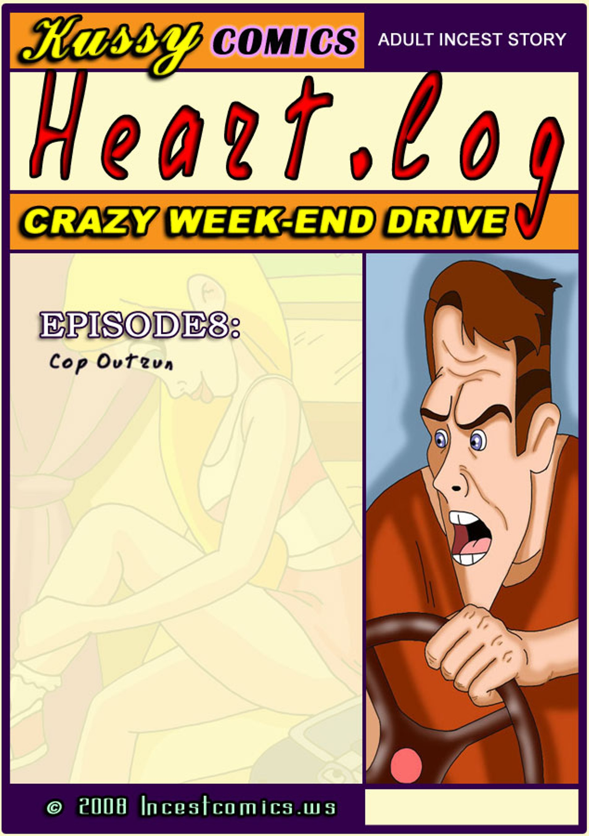 Heart Log 8 -Cop Outrun porn comics 8 muses