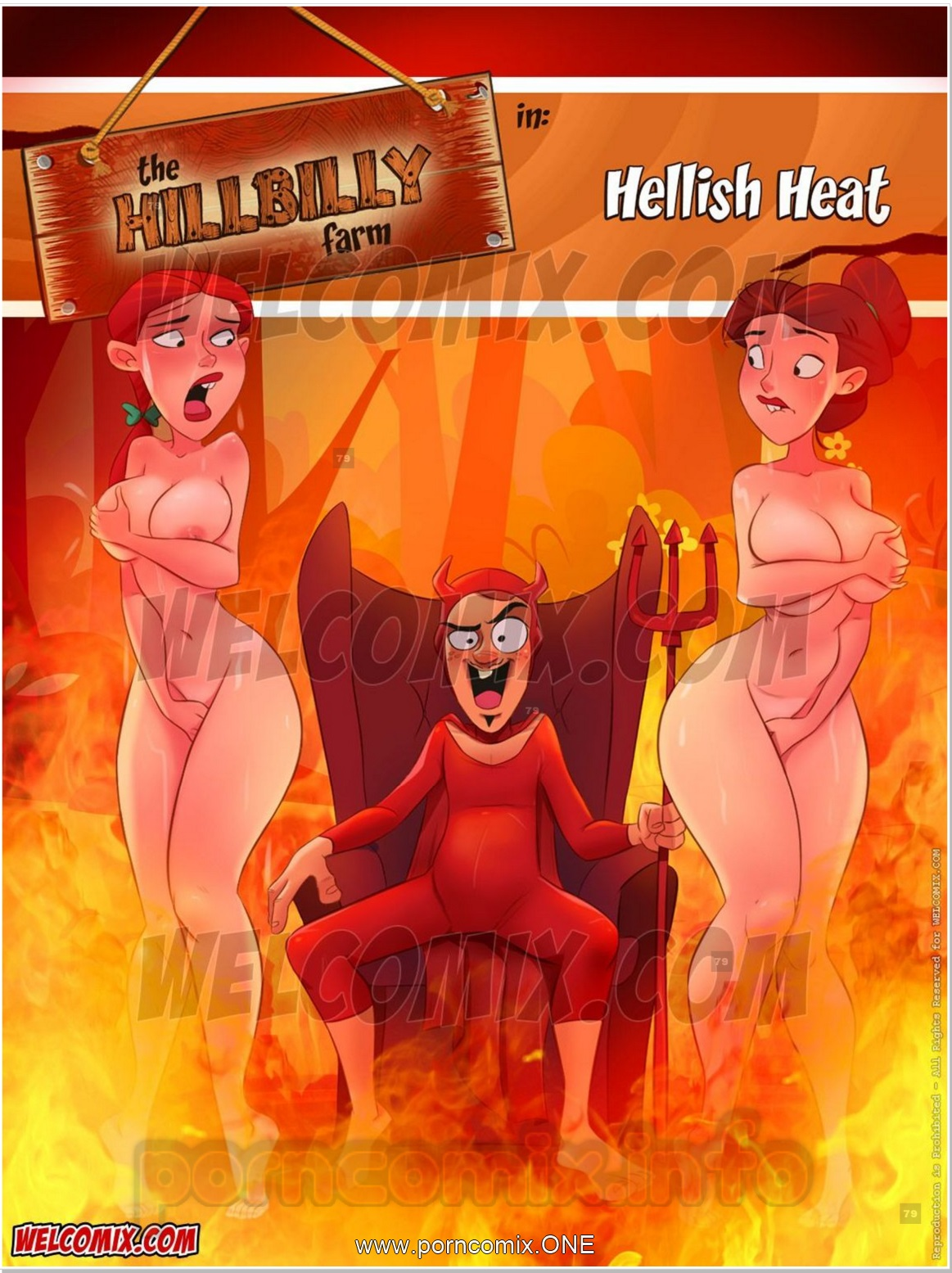 Hillbilly Farm 18- Hellish Heat porn comics 8 muses