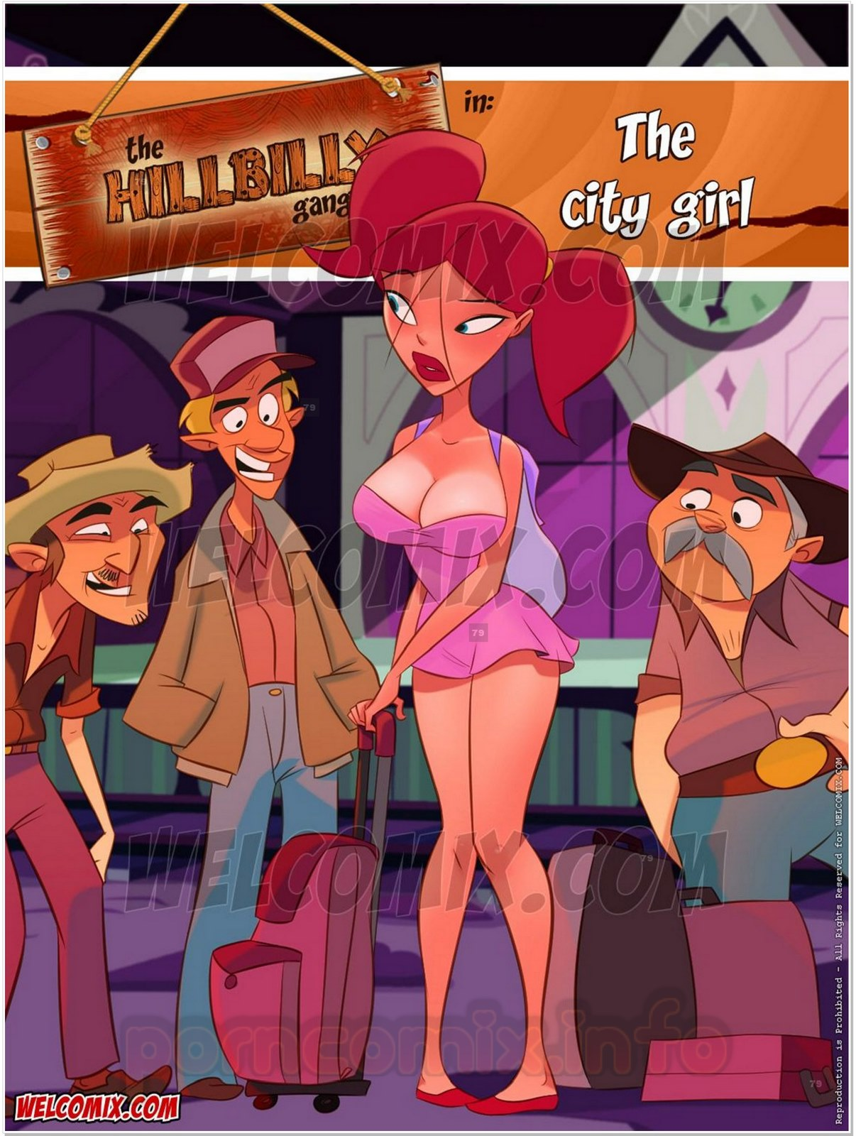 Hillbilly Gang 11- The City Girl- Welcomix porn comics 8 muses