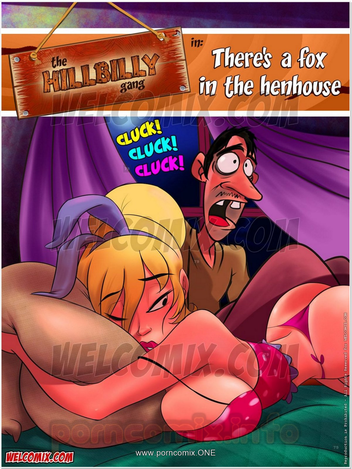 Hillbilly Gang 8- There's a Fox in House porn comics 8 muses