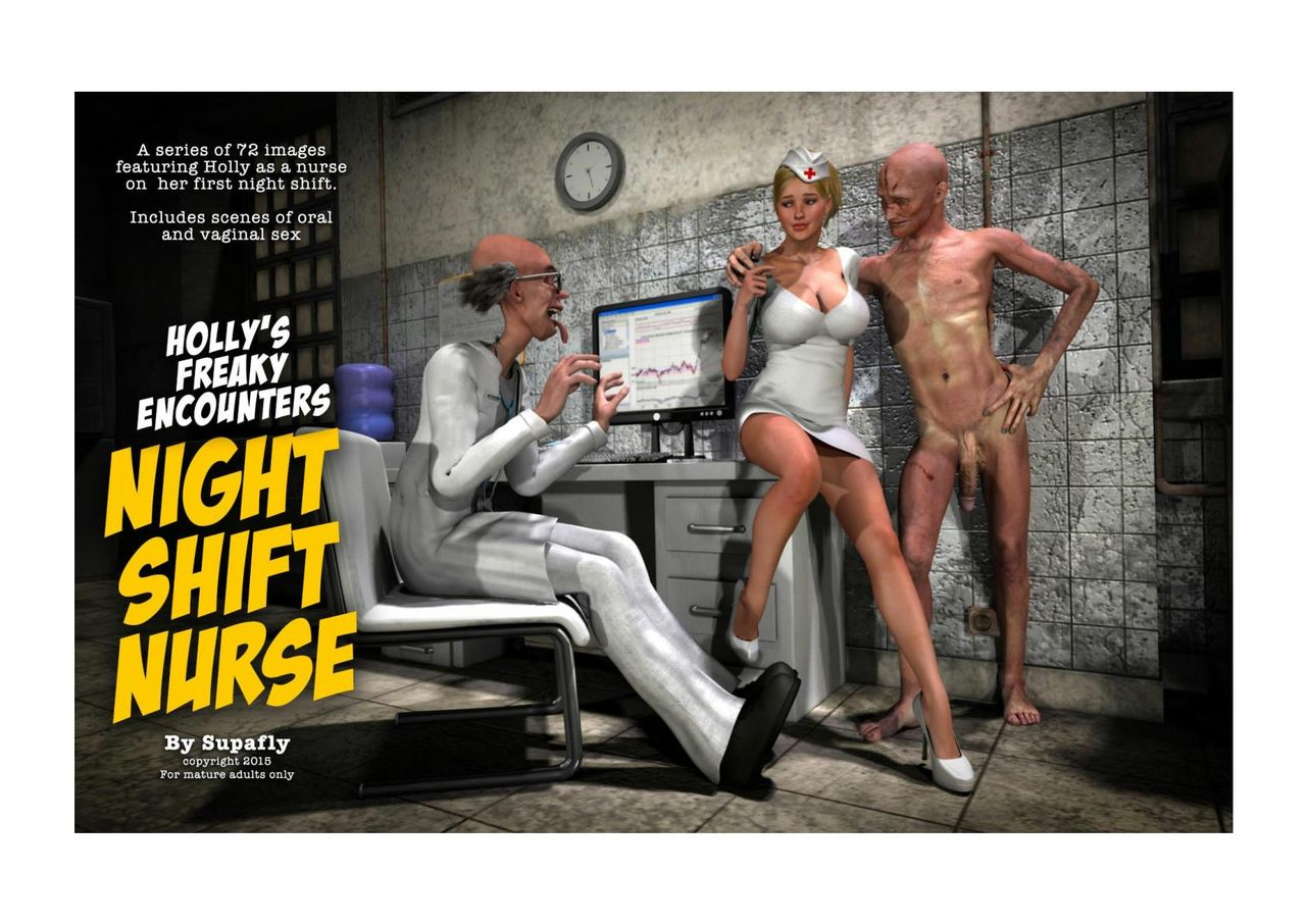 Holly's Freaky Encounters- Night Shift Nurse porn comics 8 muses
