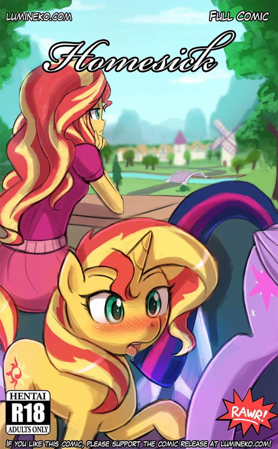 Homesick- My little Pony porn comics 8 muses