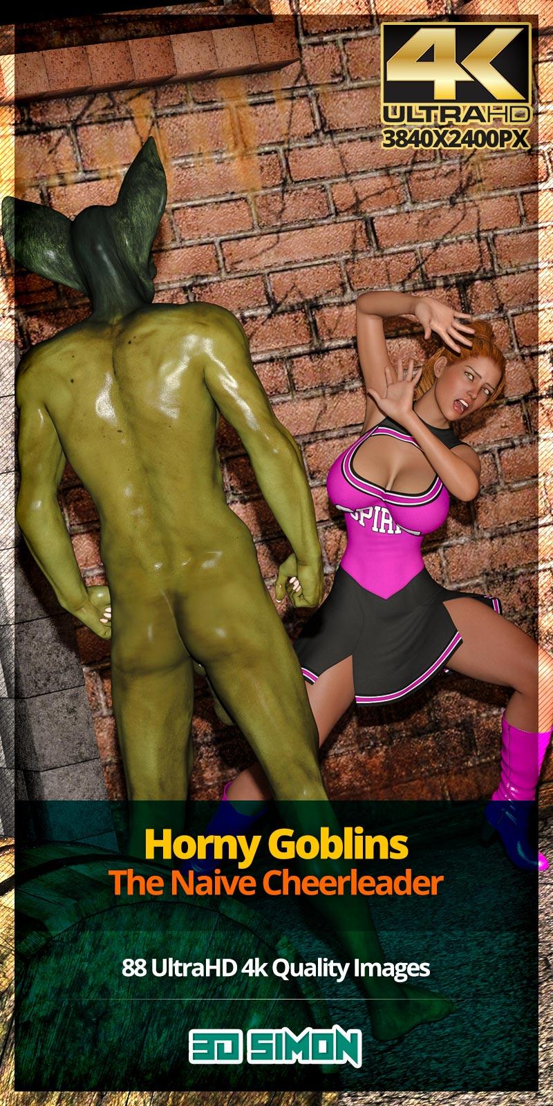 Horny Goblins 1-Naive Cheerleader, 3DSimon image 1