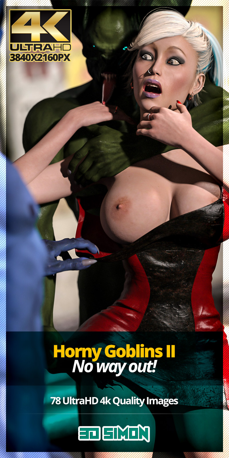 Horny Goblins 2- No Way Out,3DSimon image 1