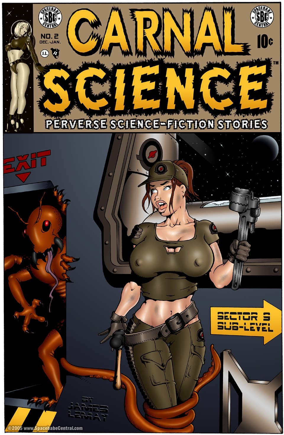 Carnal science 2- James Lemay porn comics 8 muses