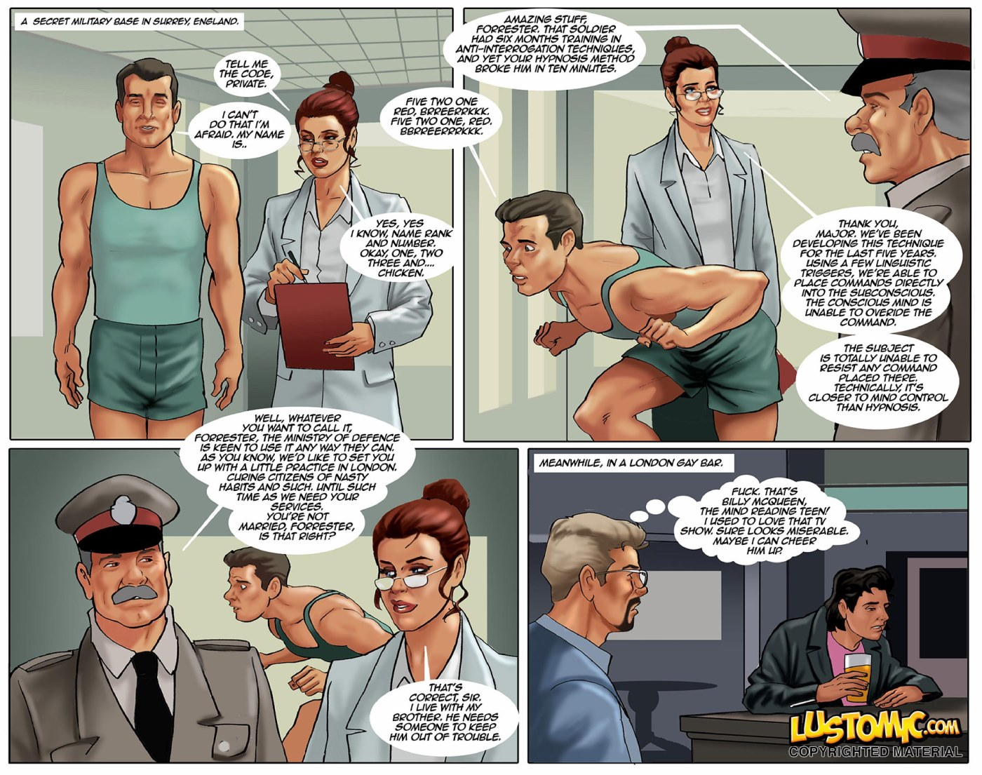Hypno Slut (Stonehouse)- Lustomic porn comics 8 muses