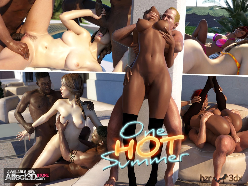 HZR – One Hot Summer- Affect3D porn comics 8 muses