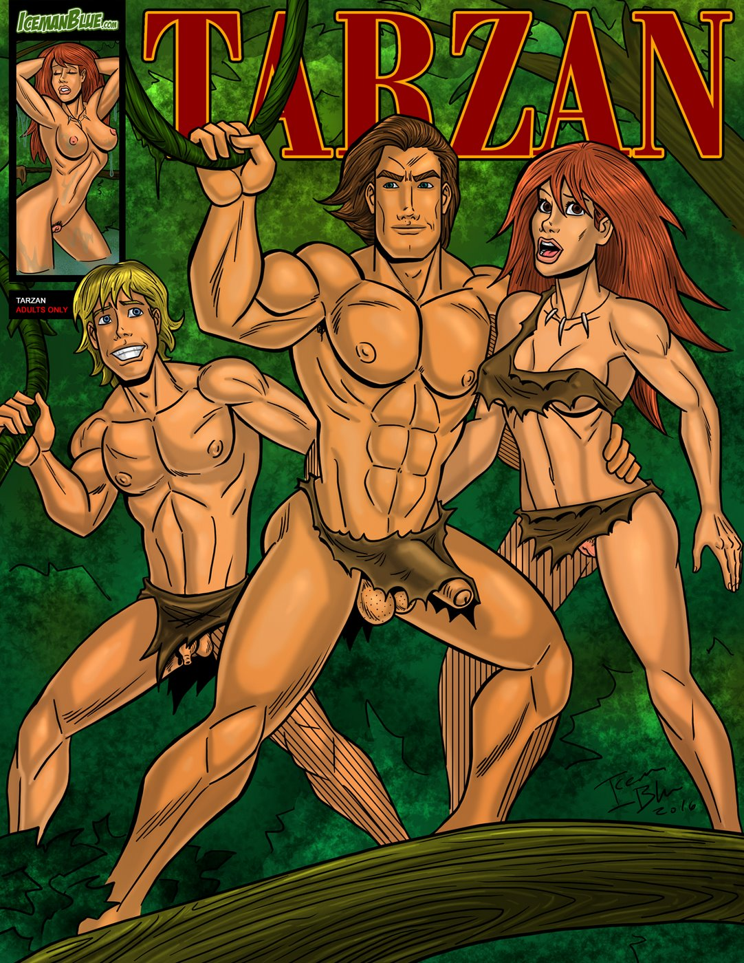 Iceman Blue- Tarzan image 1
