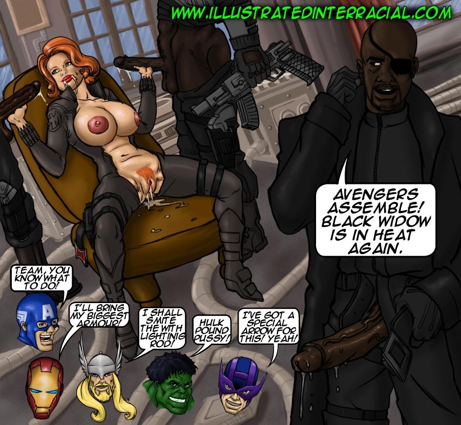 illustrated interracial- Parodies porn comics 8 muses
