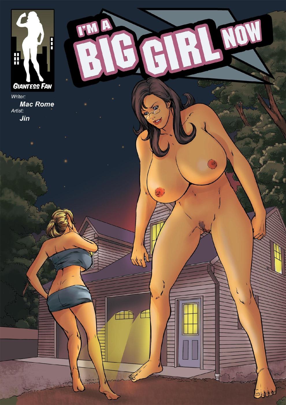 I'm A Big Girl 2- Giantessfan porn comics 8 muses